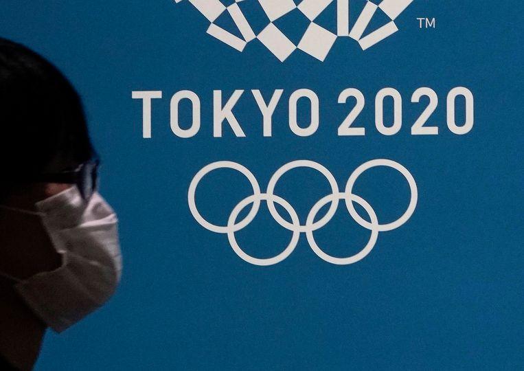 De coronacrisis brengt de Spelen in Tokio in gevaar.  Beeld EPA