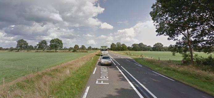De Flevoweg in Vollenhove.