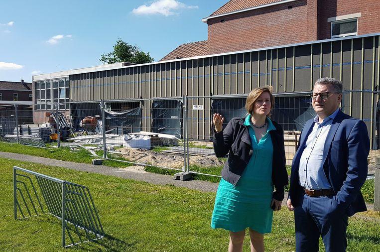 Koen Van Den Heuvel en Tinne Rombouts.