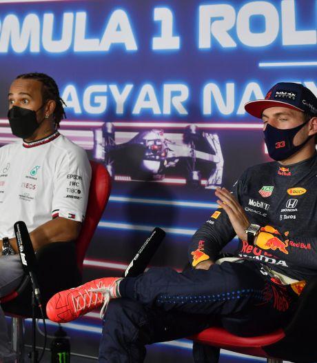 Hamilton, en pole position en Hongrie, hué par des milliers de supporters de Verstappen
