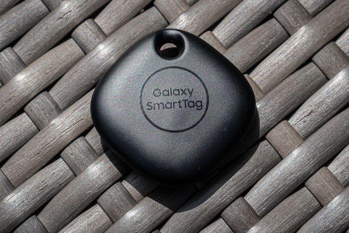 Een Galaxy SmartTag.