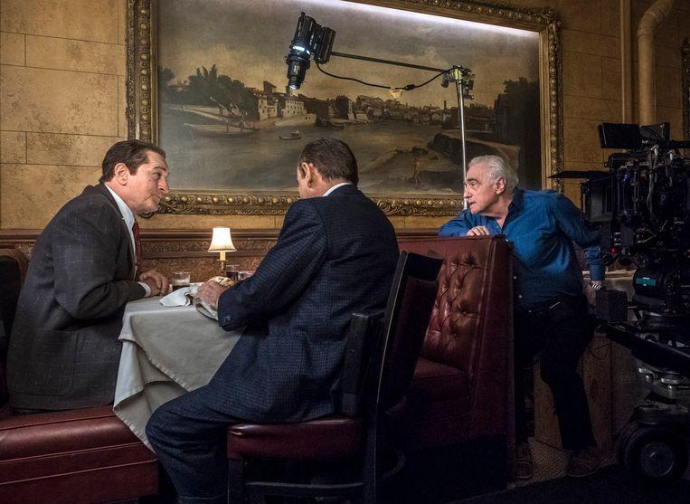 De Niro volgt de instructies van Scorsese voor 'The Irishman' (2019). Beeld AP