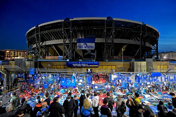 Volksverdriet in Napels en Argentinië na de dood van Diego Maradona.