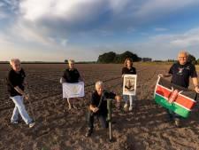 Vanuit Stiphout op de tandem door Brabant voor waterproject in Kenia