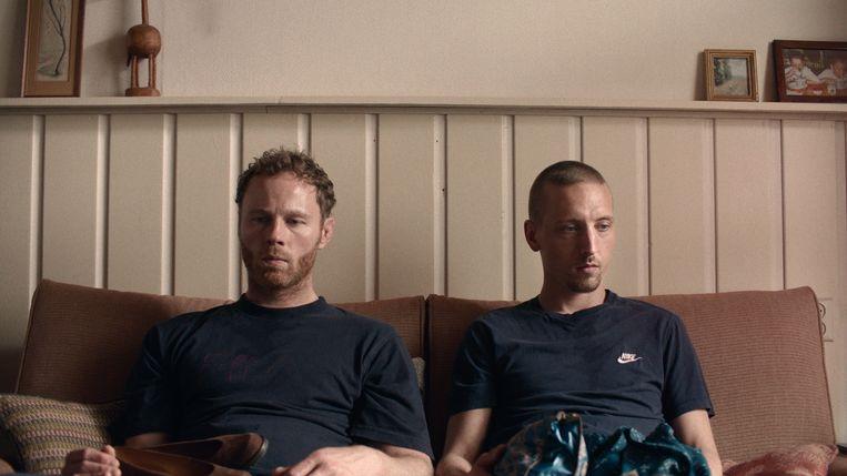 Freefightbroers Joes en Matthias.  Beeld geen