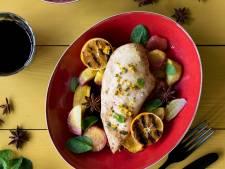 Wat Eten We Vandaag: Kip uit de oven met wortel en mandarijn