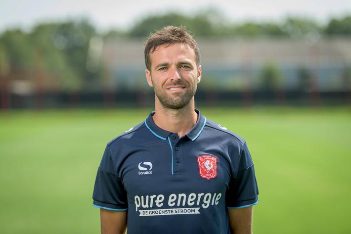 FC Twente-trainer Gonzalo Garcia Garcia