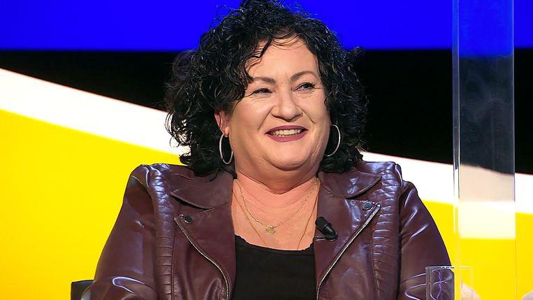 Caroline van der Plas bij 'De slimste mens' Beeld Screenshot NPO2