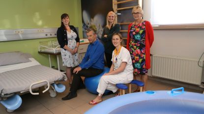 Huiselijk bevallen met je eigen vroedvrouw in het ziekenhuis…Het kan voortaan in het RZ Tienen