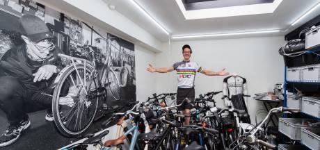 Victor verhuist met zijn fietsenzaak naar het Oosterhoutse centrum: 'Verliefd op heel veel fietsen'