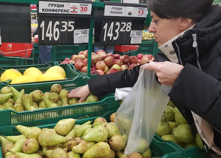 Dutch Conference pears in Russia.  Beeld null