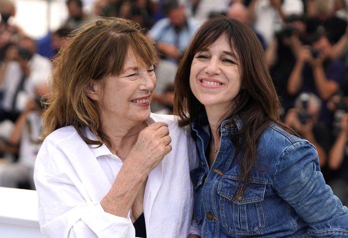 Jane Birkin et Charlotte Gainsbourg