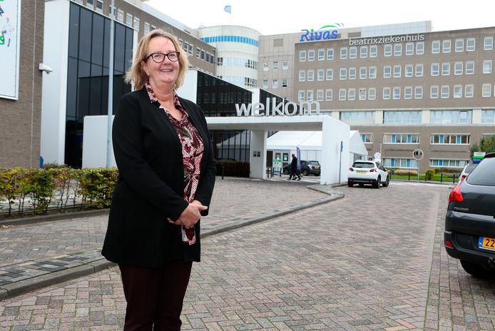 Directeur Anja Blonk van het Beatrixziekenhuis in Gorinchem.
