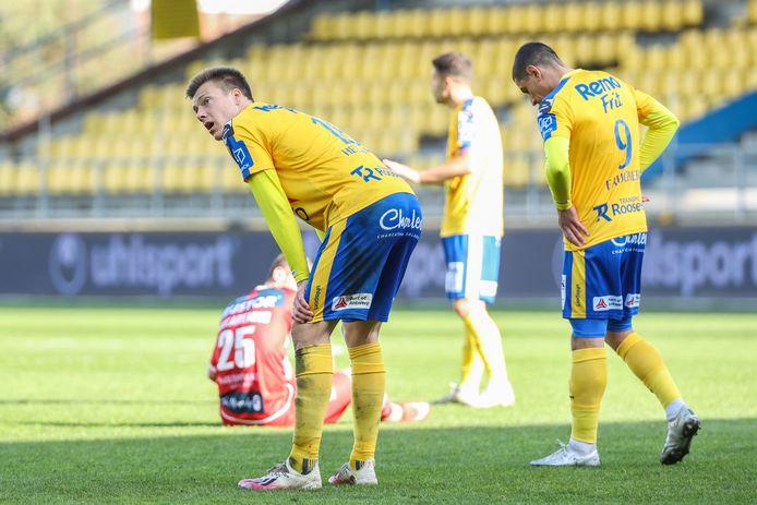 De teleurstelling bij Waasland-Beveren was groot na de nederlaag tegen KV Kortrijk, zondag wacht de laatste kans op de redding.
