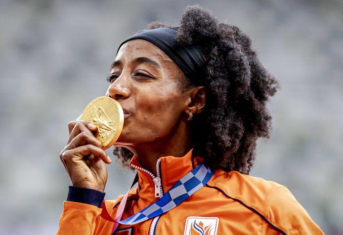 Goud: Sifan Hassan (atletiek, 5000m, vrouwen)