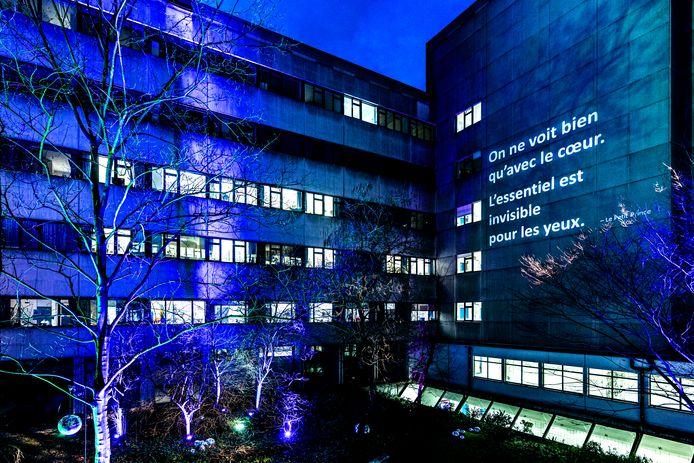 De Grote Schijn in het Universitair Ziekenhuis Antwerpen (UZA) in Edegem.