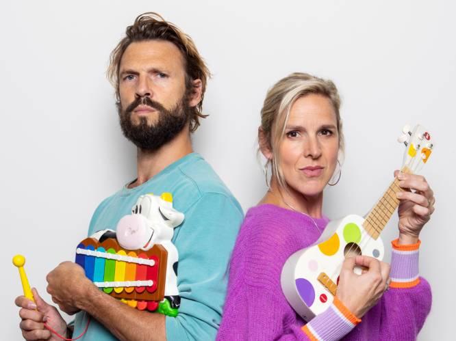 """Pieter en Tine Embrechts over hun liefde voor muziek en gedeelde onnozelheid. """"Vroeger speelden we Theo en Thea voor de spiegel, met witlooftandjes"""""""