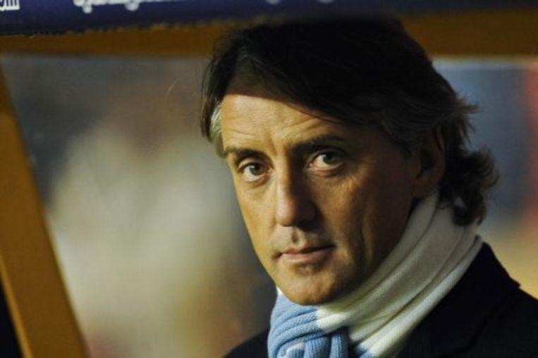 Trainer Roberto Mancini van Manchester City. ANP Beeld
