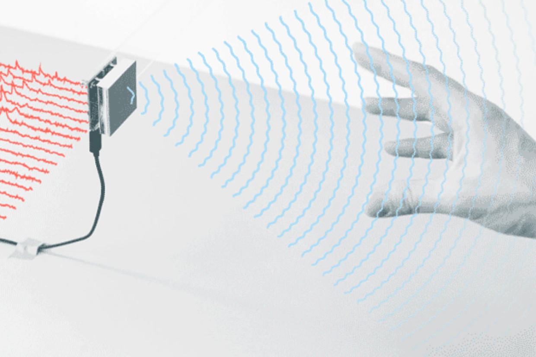 Promobeeld van Soli, een project van Google dat zich concentreert op zogenaamde 'gestures'. Beeld rv