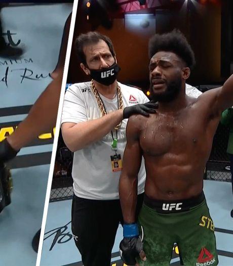 Krankzinnige climax titelgevecht UFC: titelhouder verliest titel na knietje in gezicht
