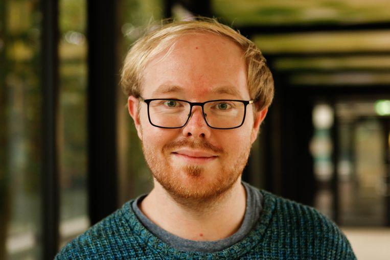 Taalwetenschapper Joe Rodd. Beeld