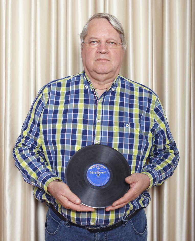 Bluesexpert Guido van Rijn Beeld Daniel Cohen