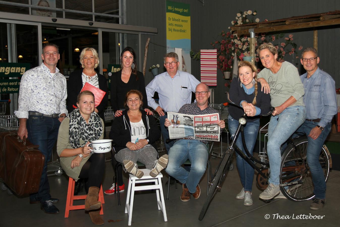Toneelvereniging Kiek'nsweard brengt begin volgende maand de klucht 'De onbetaalbare loodgieter' op de planken.