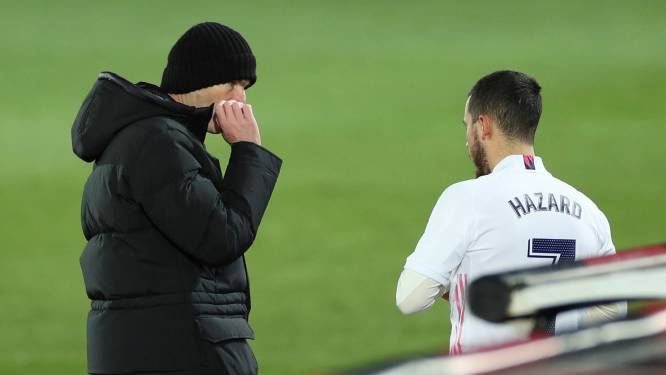 """Zidane blijft geduld uitoefenen: """"We moeten Eden vertrouwen blijven geven"""""""