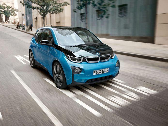 De elektrische BMW i3.