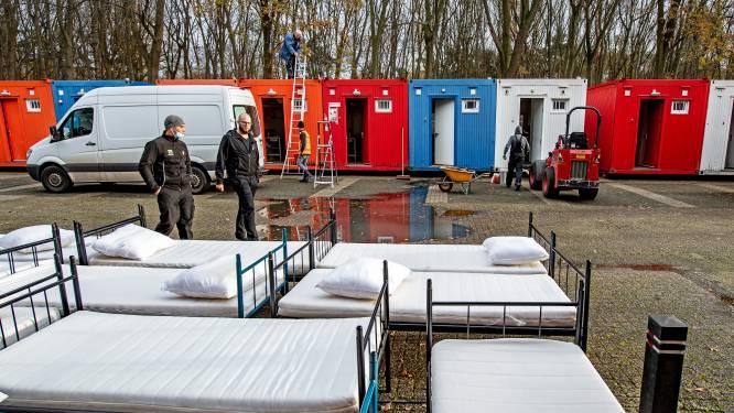 Noodopvang in containers moet Nijmeegse dak- en thuislozen opnieuw beschermen tegen winterse kou