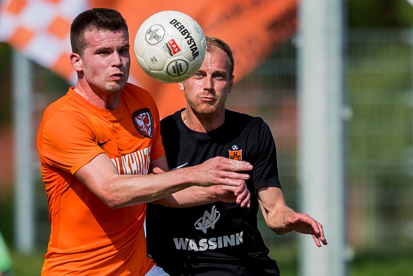 Migiel Zeller is weer volledig inzetbaar en start tegen HSC'21 misschien wel in de basis, liet trainer Frits van den Berk weten.