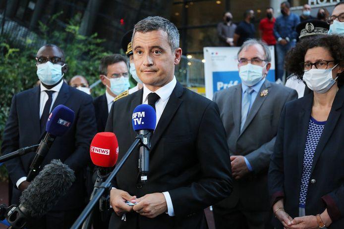 De Franse minister van Binnenlandse Zaken Gerald Darmanin.