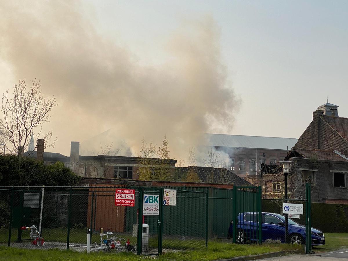 Brand op de FNO site.