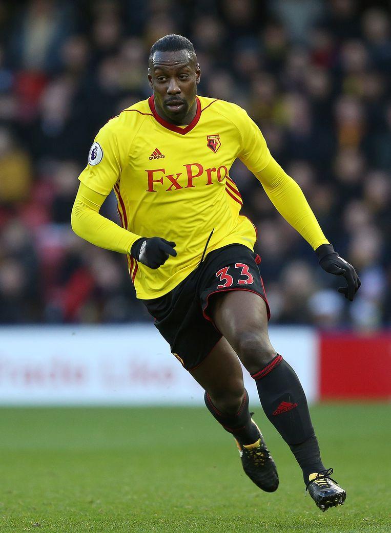 Okaka in het shirt van Watford.