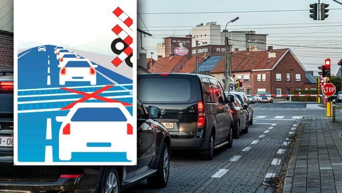 Nieuw verkeersbord waarschuwt voor blokkeren van spooroverweg
