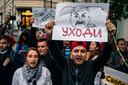 De afgelopen dagen zijn zeker 6700 mensen opgepakt door de Wit-Russische politie.