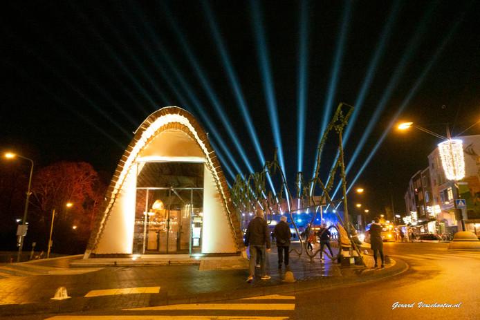 Het Green Capital-paviljoen op Kelfensbos.