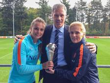Sarina Wiegman beste coach vrouwenteam