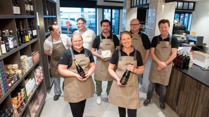De stunt van de Oudenaardse zussen Gijselinck: in 40 dagen bakkerij met tea-room gesloopt en er een voedings- en delicatessenzaak gebouwd