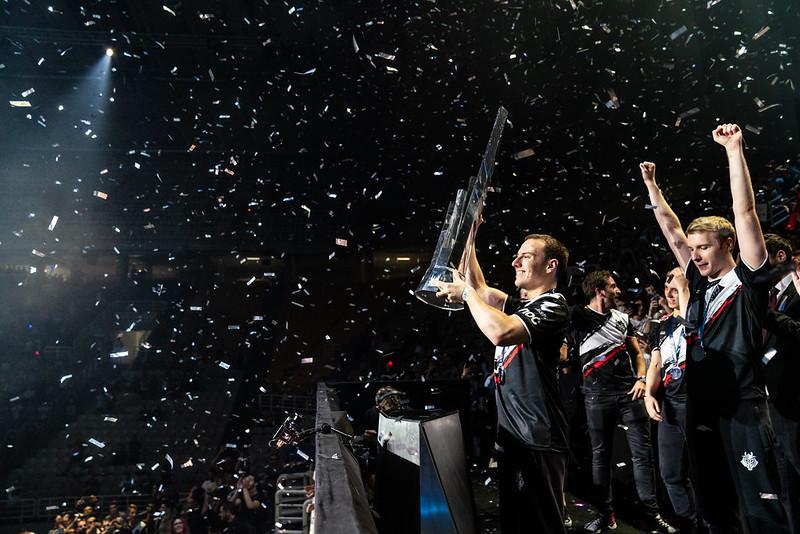 G2 Esports won het afgelopen seizoen van de LEC door in de finale Fnatic met 3-2 te verslaan.