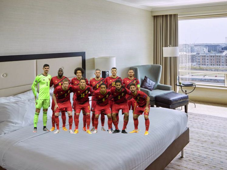 Hier slapen onze Rode Duivels tijdens het EK: kijk binnen in de kamers van hun (luxe)hotels