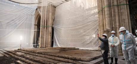 Le démontage de l'ancien échafaudage de Notre-Dame est achevé