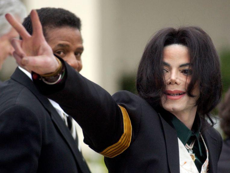 Michael Jackson in 2005.  Beeld AP