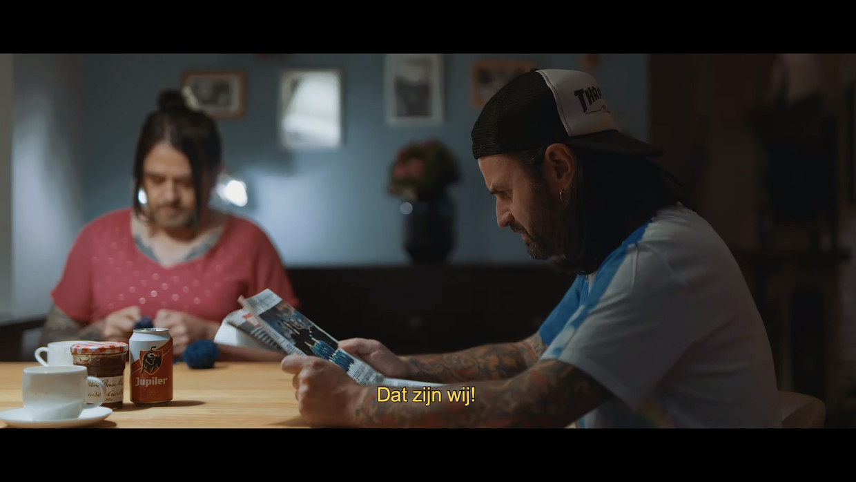 De clip van 'T-Shirt van Fleddy Melculy' Beeld FM