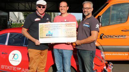 Cheque van 5.250 euro voor Kom op tegen Kanker