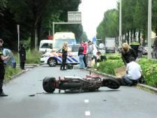 Motorrijder en fietser gewond geraakt na aanrijding