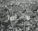 Het Stadhuisplein in Eindhoven, in 1969, het jaar dat het huidige Stadhuis werd geopend.