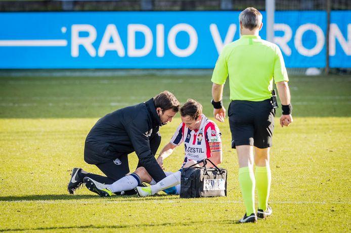 Freek Heerkens valt uit met een blessure.