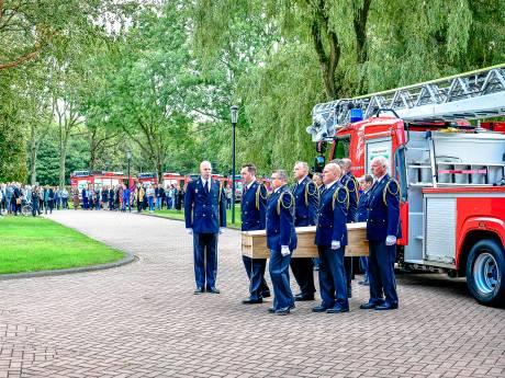 Emotioneel afscheid van Ap (57): een brandweerman die het korps kleur gaf
