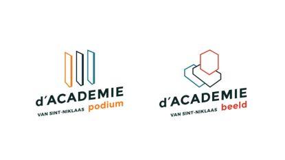 Nieuwe naam, huisstijl en website voor Sint-Niklase academies: voortaan d'Academie Beeld en d'Academie Podium